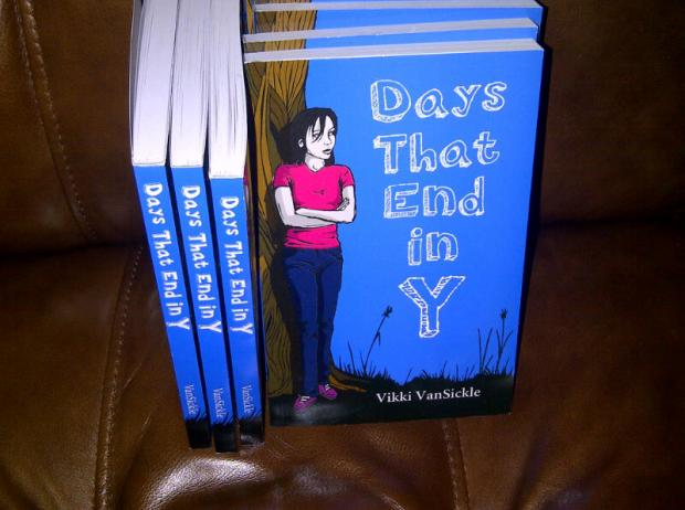 Days That End in Y. author copies