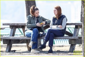 Kristen Stewart and Julianne Moore take a Walk in the Park for