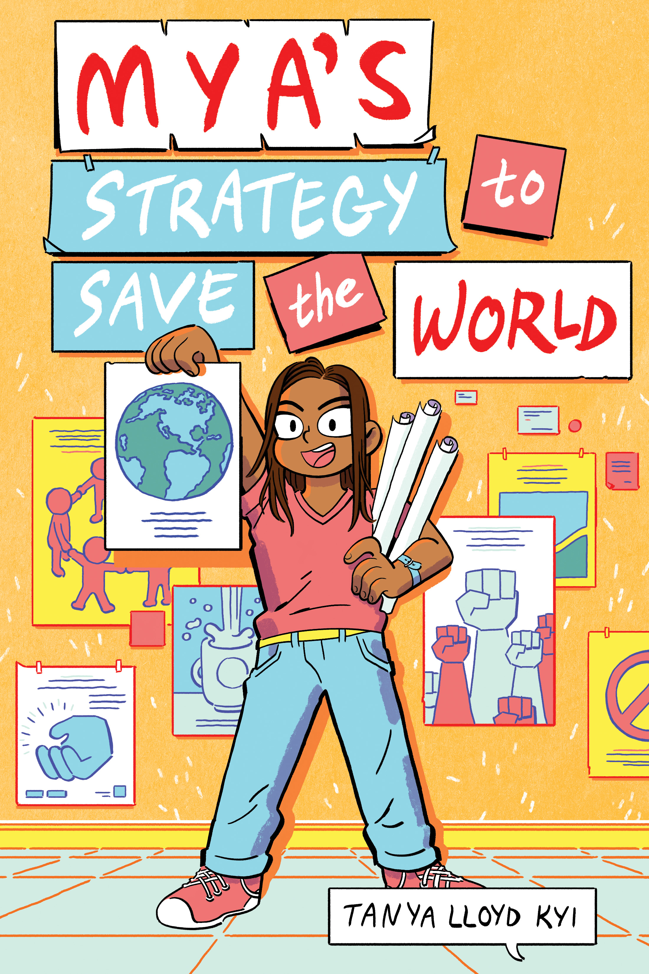 Mya's Strategy to Save the World-paperback